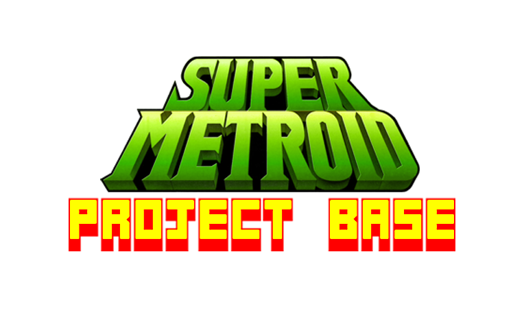 Super Metroid Project Base logo